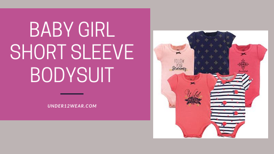 Baby Girl short sleeve Bodysuits