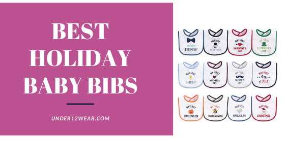 Holiday bibs for baby