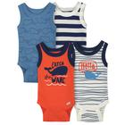 Gerber boy Sleeveless Onesies Bodysuits